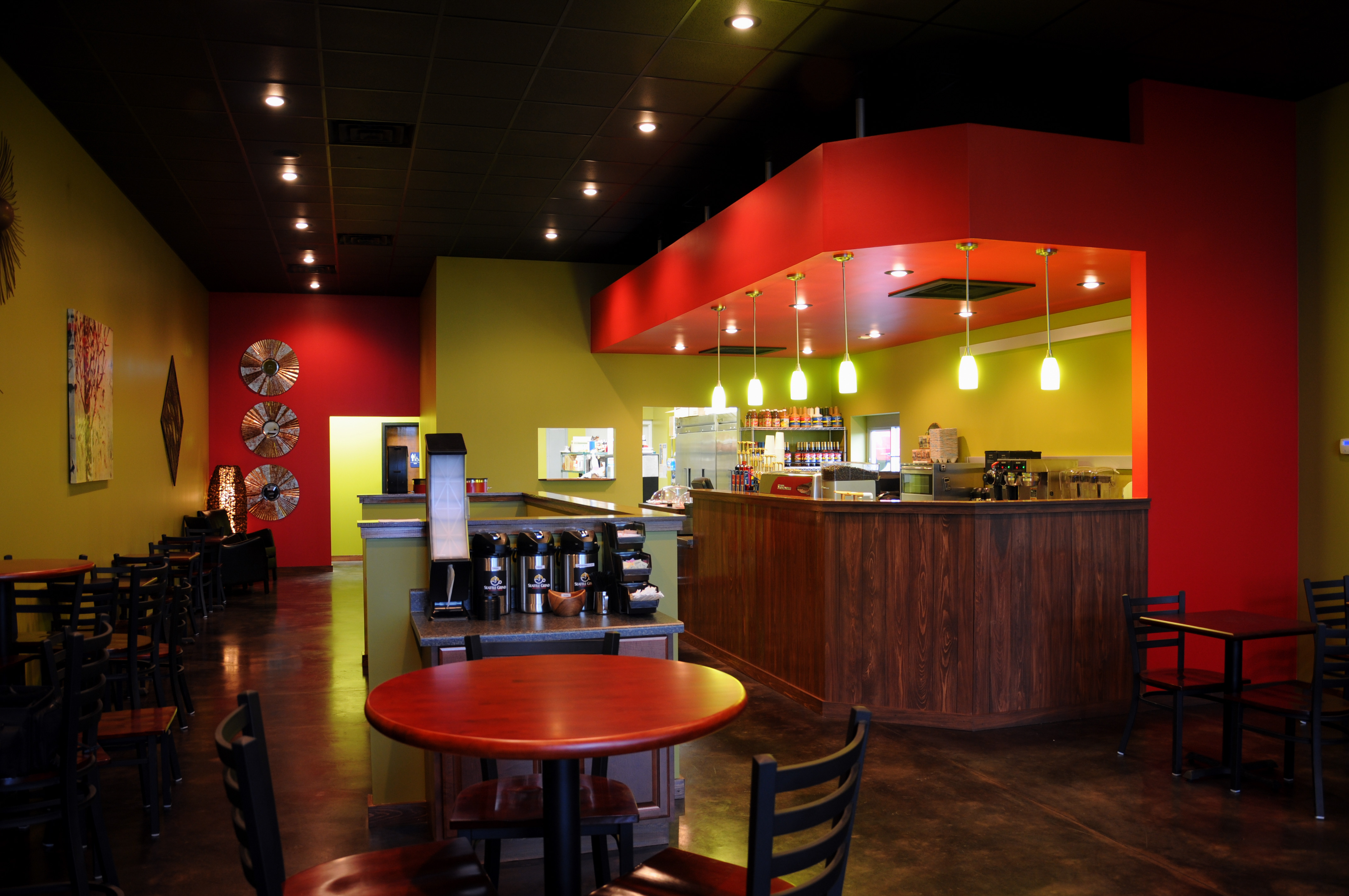 Seattle Grind Café Is A New Coffee Restaurant That Provides Not Only The Best Around But Great Food This Second Location